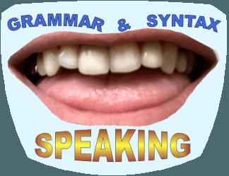 Grammaire, grammar, syntax, syntaxe, structure, expression orale, anglais, anglais OACI, anglais PLS