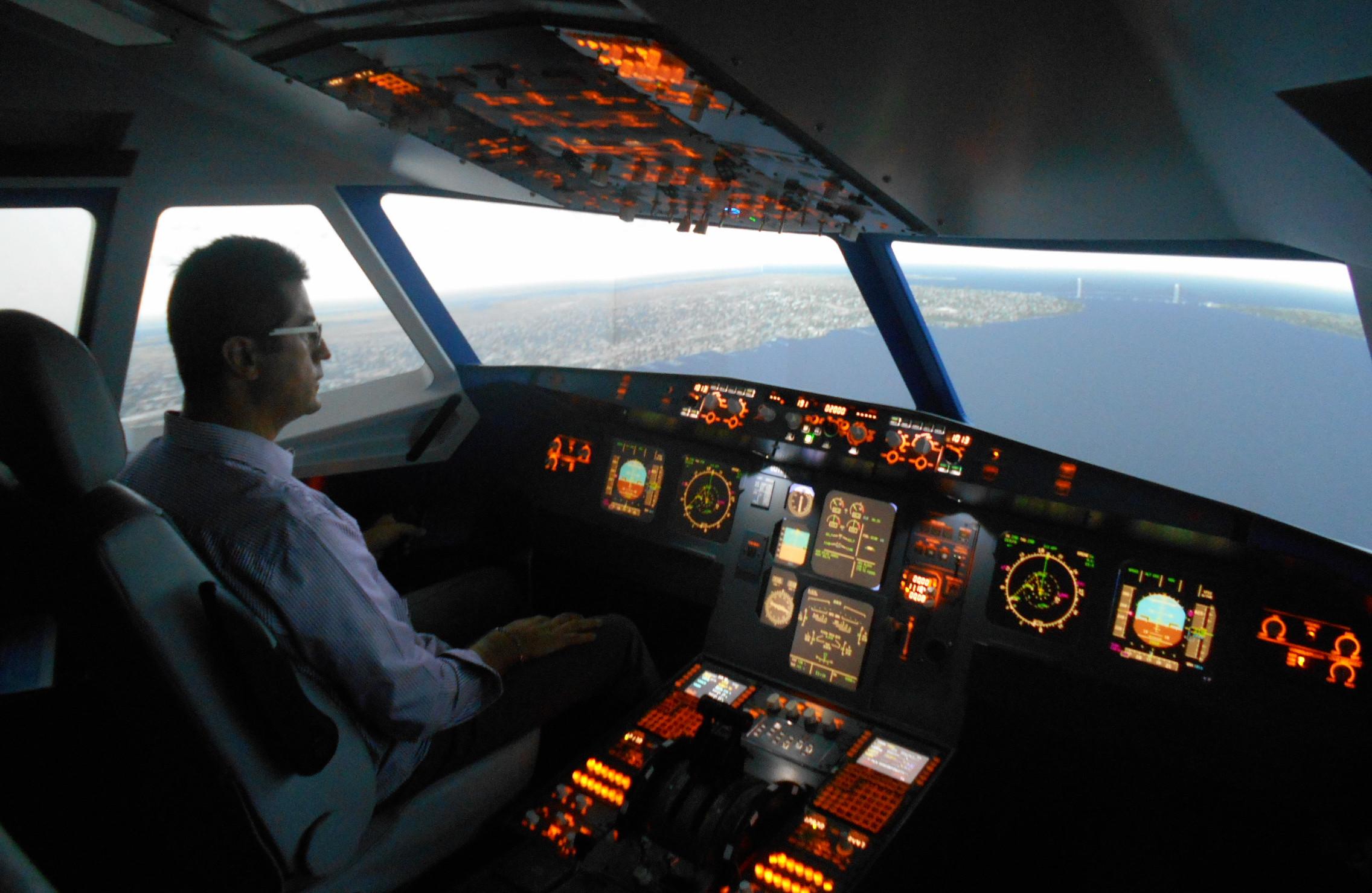 Test FCL .055 DGAC Toni Giacoia Simulateur de vol Airbus A320 anglais OACI